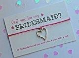 Team Bride Wish Bracelets: Purple: Infinity Charm: Bridesmaid