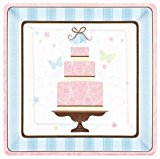 Amscan International Blushing Bride 26.6 cm Paper Plates, Pack of 18
