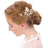 Vintage Gold Twig Hair Clips Bridal Headpiece Wedding Accessories