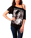 Black Veil Brides Andy Darker band logo Official Womens New Black Loose Fit Top