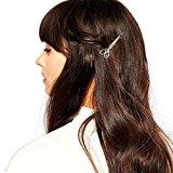 Kolylong Hair Clip Hair Accessories Headpiece Unique gift (Silver)