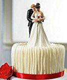 Wedding favor and decoration----Bride and Groom toppers Couple Figurine wedding cake topper for wedding cake decoration supplies cake Topper (T07)