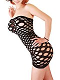 FasiCat Lingerie Women Chemise Mini Fancy Dress Negligrees BabyDoll for New Fashion Design Sleepwear black