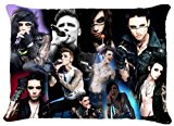 SkoiProduct Pillowcase BLACK VEIL BRIDES Andy Andrew Biersack Pillow Case Pillowcase Cover 20x30 (two sides)