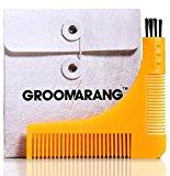 Groomarang Beard Styling and Shaping Template Comb Tool