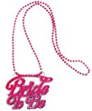 Amscan International Girls Night Out Bride to Be Necklace