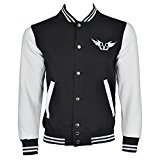 Black Veil Brides Gate Jacket (Black/White) - Small