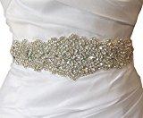 Gorgeous Rhinestone Trim and Detailed Bridal Sash, Wedding Sash, Rhinestone Belt, Bridal Belt, Rhinestone Applique RA124