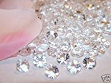 400 8mm Clear Table Diamonds Scatter Crystals Wedding