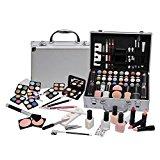 Ardisle 58 Piece Vanity Case Make Up Set Makeup Manicure Box Beauty Cosmetic Gift Xmas