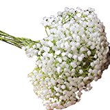 Perfect for Wedding Party Home Decoration, Internet Artificial Gypsophila Fake Flower Wedding Party Silk Bouquet