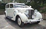 IVORY wedding car kit 6m ribbon & 5 50mm pull bow