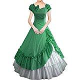 Partiss Bowknot Short Sleeve Classic Lolita Dress