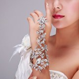 Bella Bridal New Bride Wedding Chain Bracelet Ring Dress Accessories