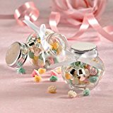 HARDWARE FOR YOU LTD MINI WEDDING FAVOURS GLASS JAR CANDY SWEET PARTY TABLE DECORATION CONFETTI