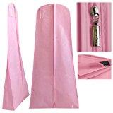 Hangerworld Single Pink Wedding Gown Dress Garment Cover Bag with Secret Internal Zipped Pocket 72