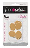Pressure Pointz BRIDAL COLLECTION by Foot Petals - Mini Spot Cushions for Shoes - 3 Pairs - Buttercup