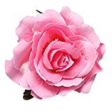 Bodhi2000® Womens Bridal Rose Hair Clip Hair Accessories Pin up Flower Brooch
