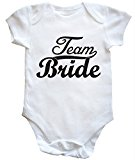 HippoWarehouse Team Bride baby vest boys girls