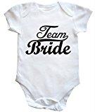 HippoWarehouse Team Bride baby vest boys girls