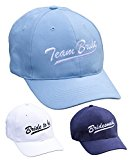 Twill and Co. Bride To Be, Bridesmaid and Team Bride Quality Embroidered Cap Keepsake; Cute Baseball Hat for Hen Do and Bachelorette Parties, Great and Cool Alternative To Sashes, Tiaras, L-Plates or Veils. Sold Separately or in a 5 Pack (Team Bride)
