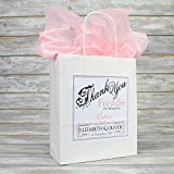 Personalised Wedding Favour Party Gift Bag | Coloured Tissue Paper (Pale Pink)
