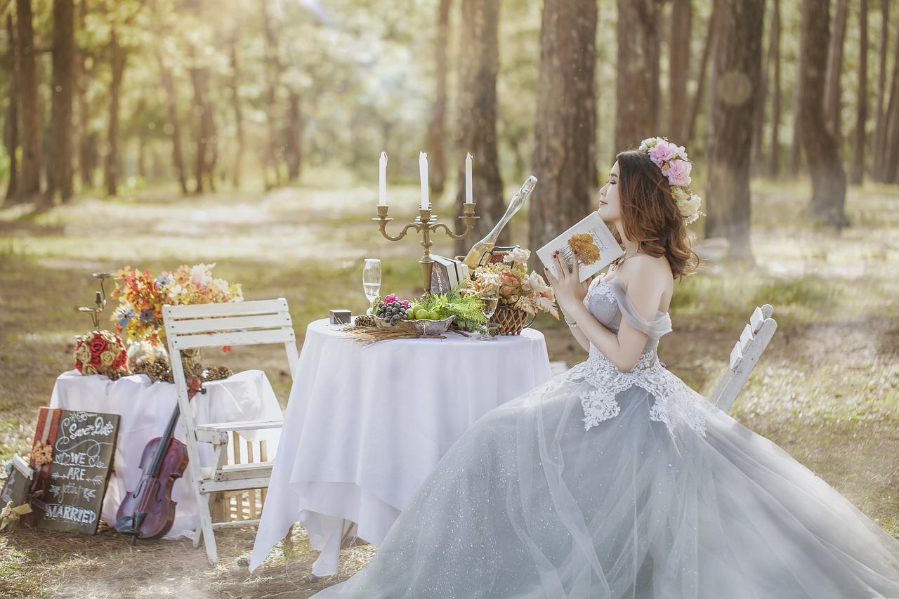 wedding white photo